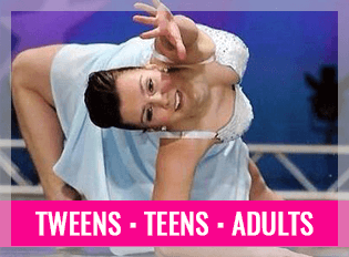 dance classes for teens, tweens and adults